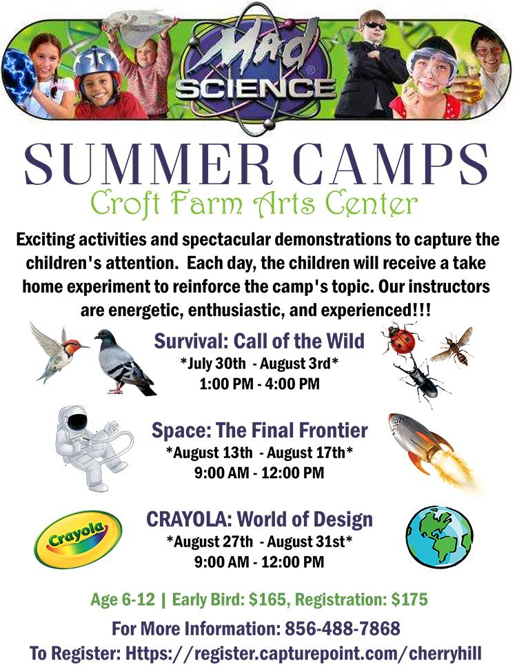 Mad Science Summer Camps 2018