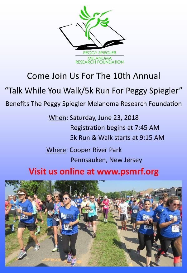 Talk While You Walk/5K Run for Peggy Spiegler