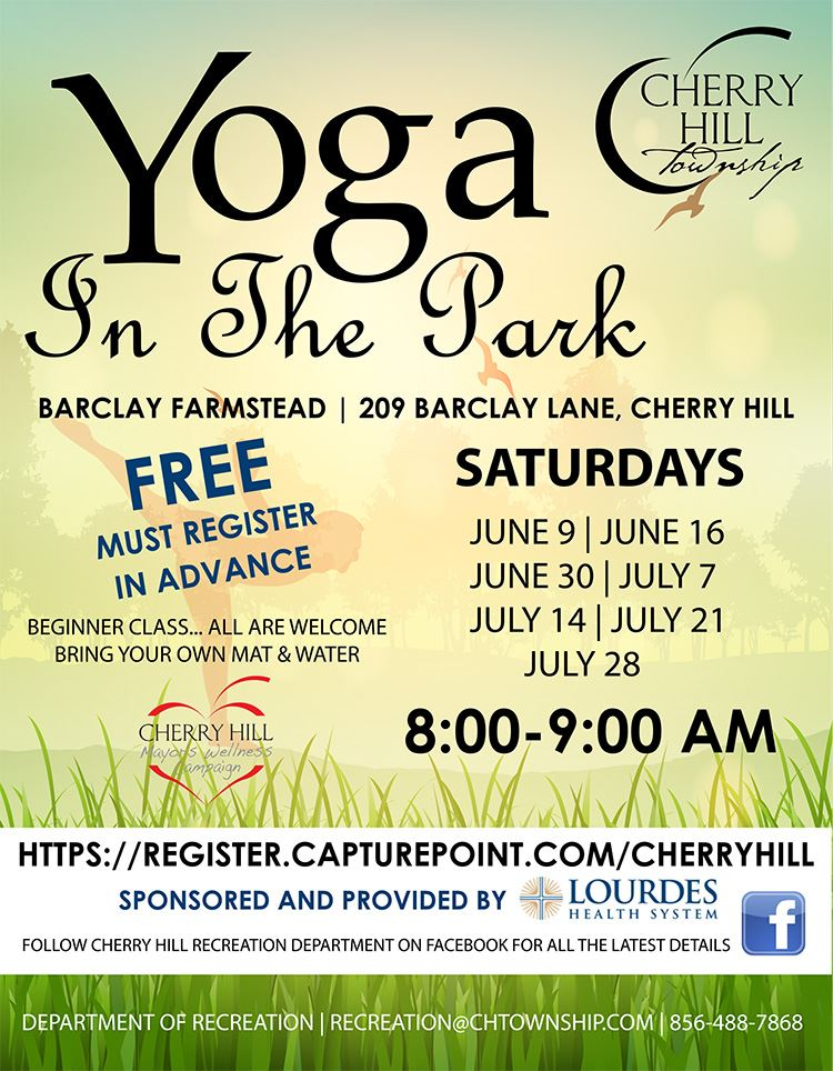Flyer- yoga in the park 2018