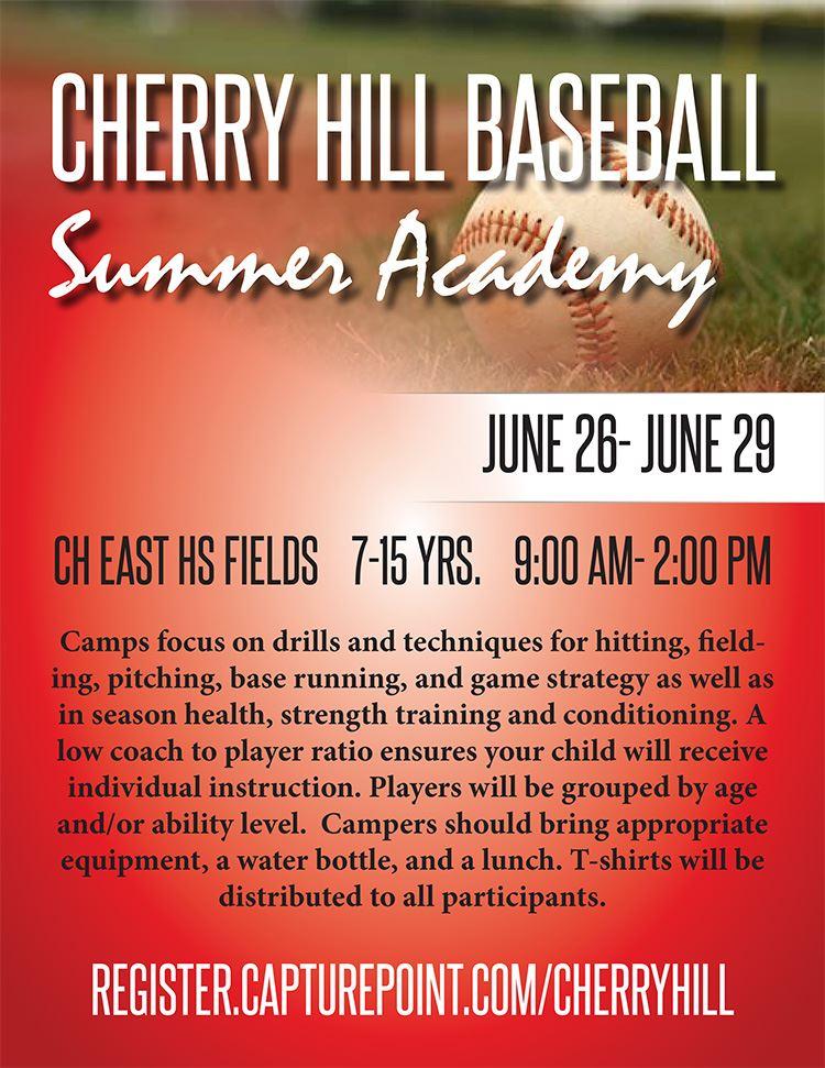 CH East Baseball Summer Baseball Camp