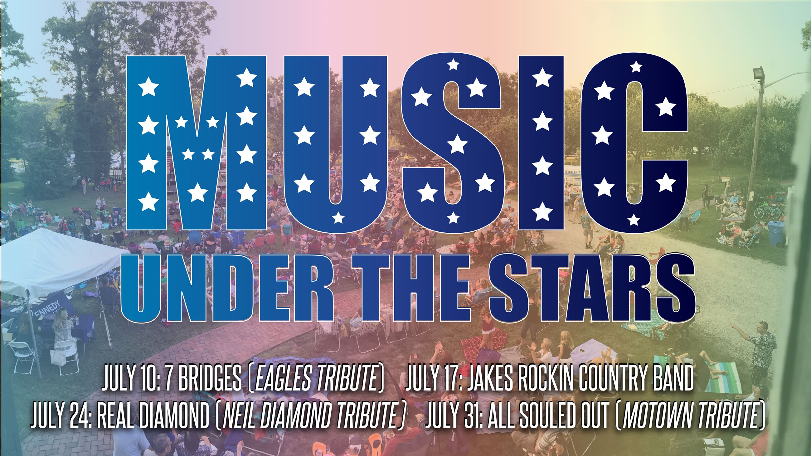 Music Under the Stars FB event