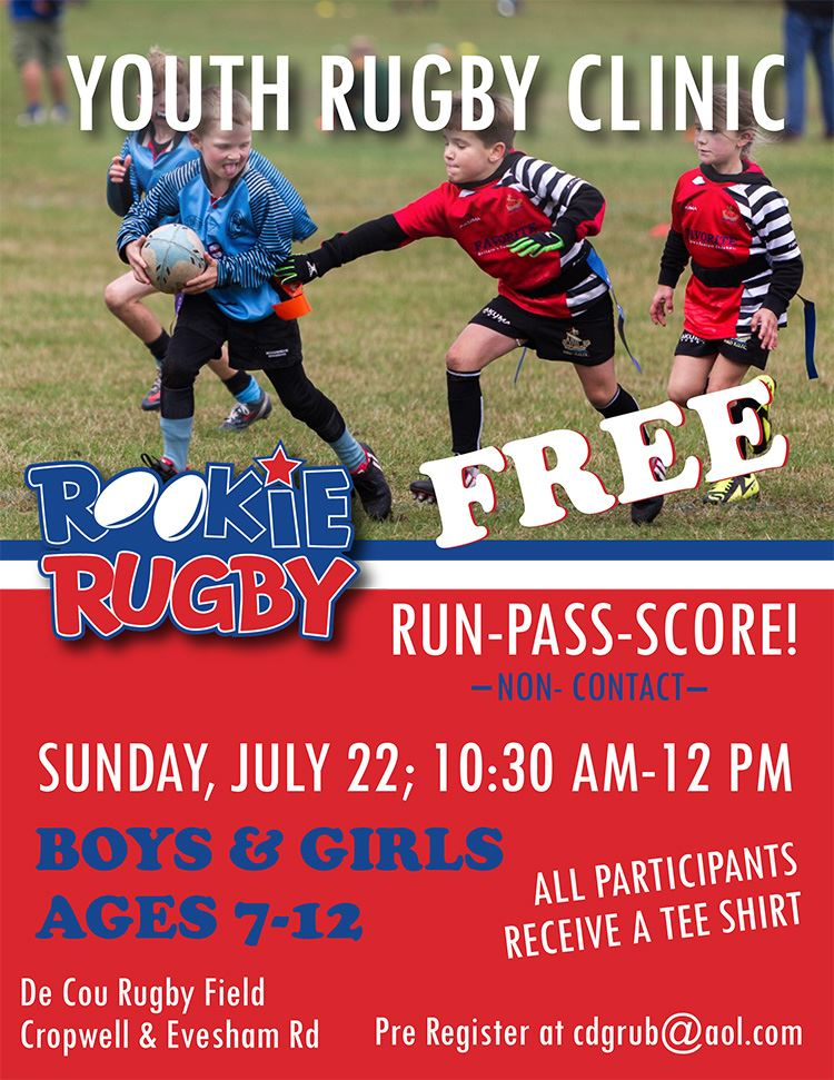 rugby flyer