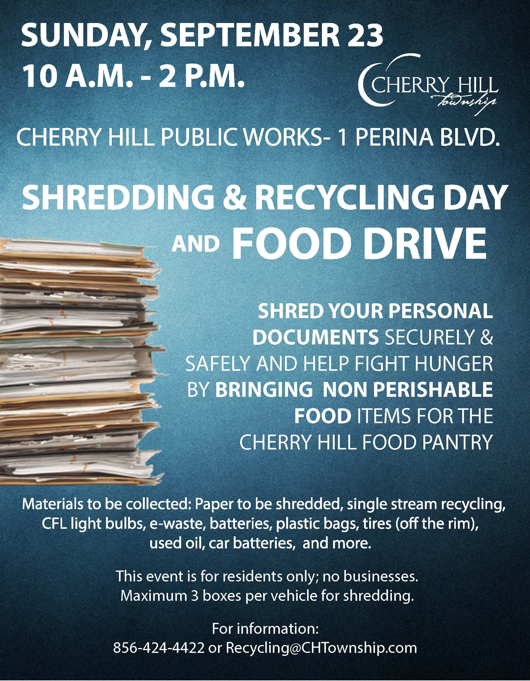 Shredding Day Flyer 2018