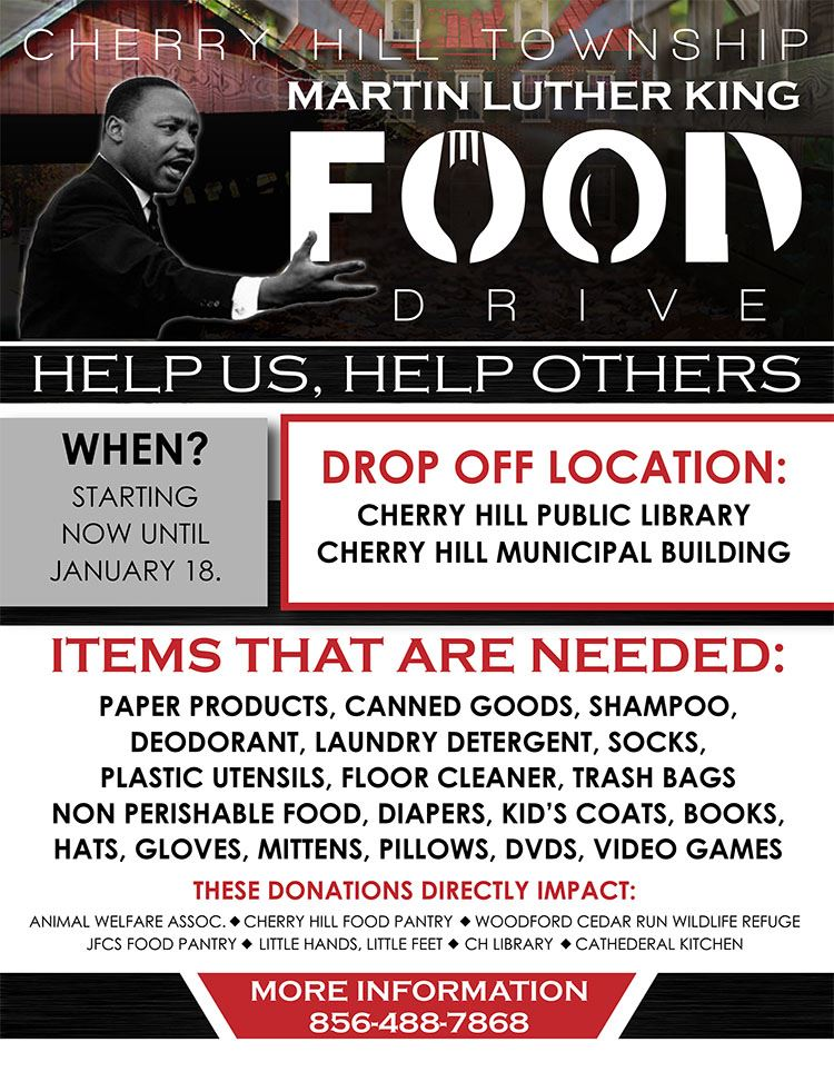 MLK flyer donate generic