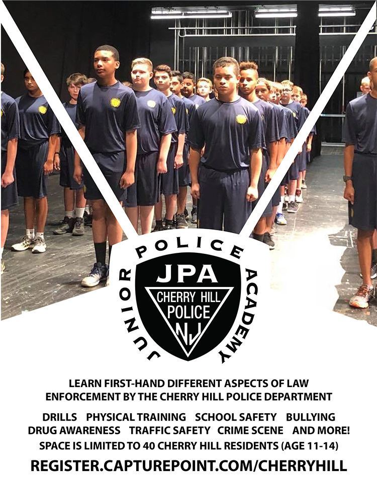 Junior Police Academy Learn first hand aspects of law