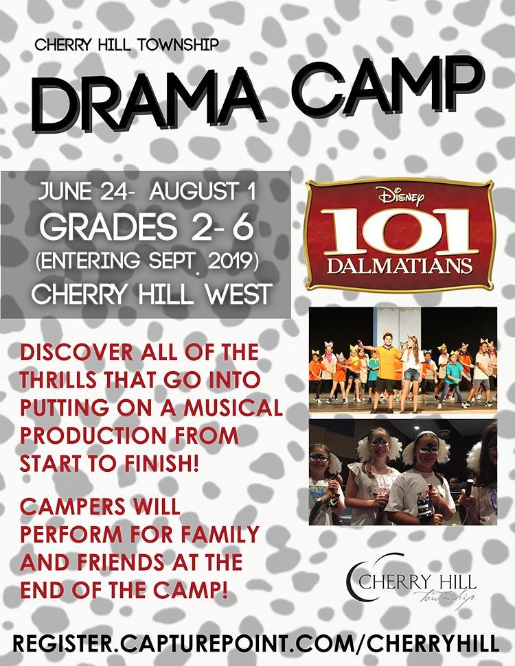 Drama Camp Grades 2 through 6 June 24 to August 1