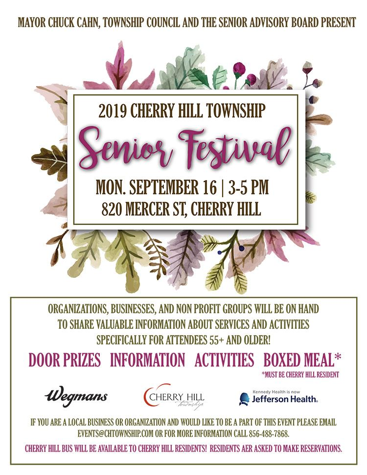 Senior Festival Event September 16 2019