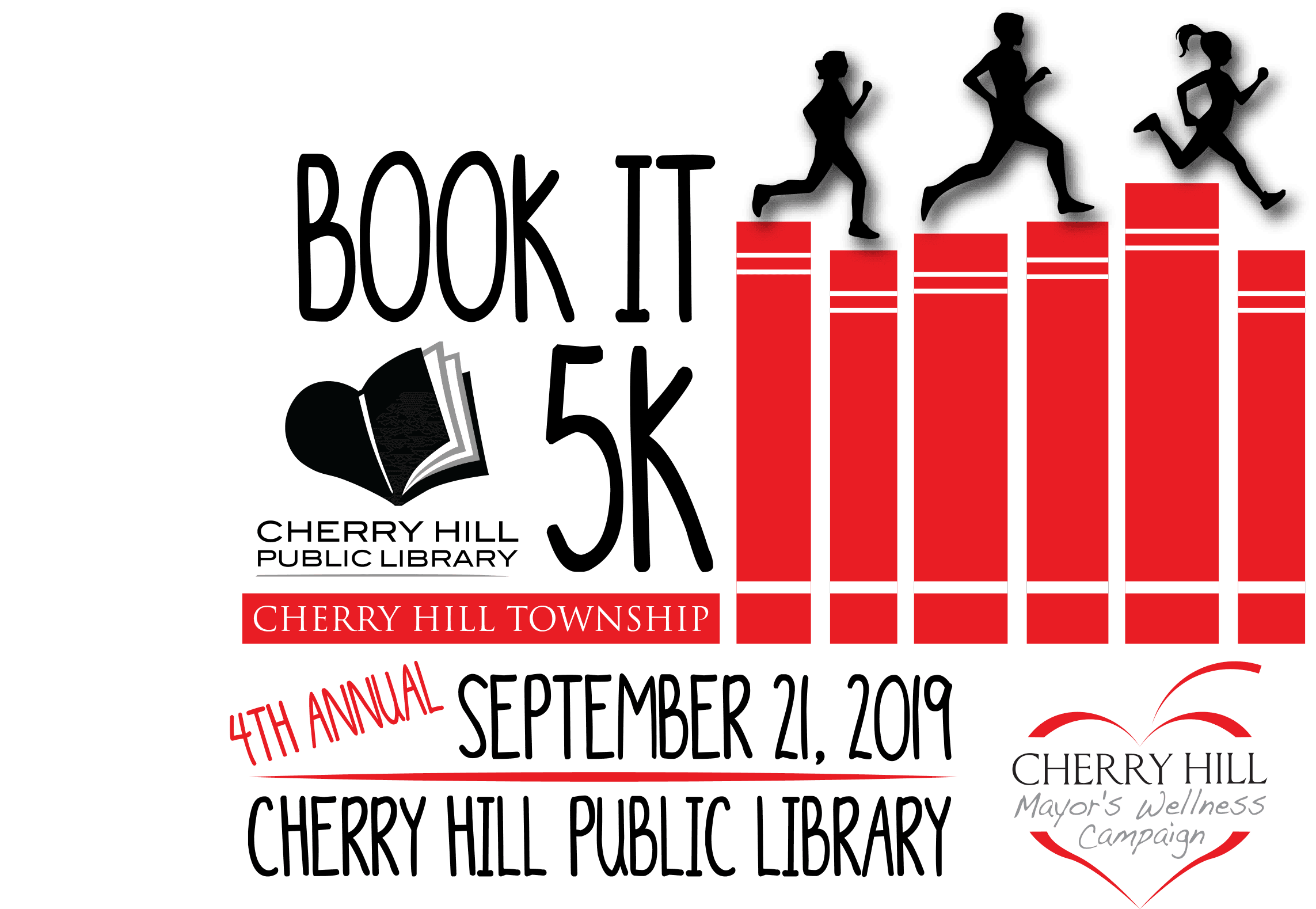 Book It 5K Sept 21 2019 Logo