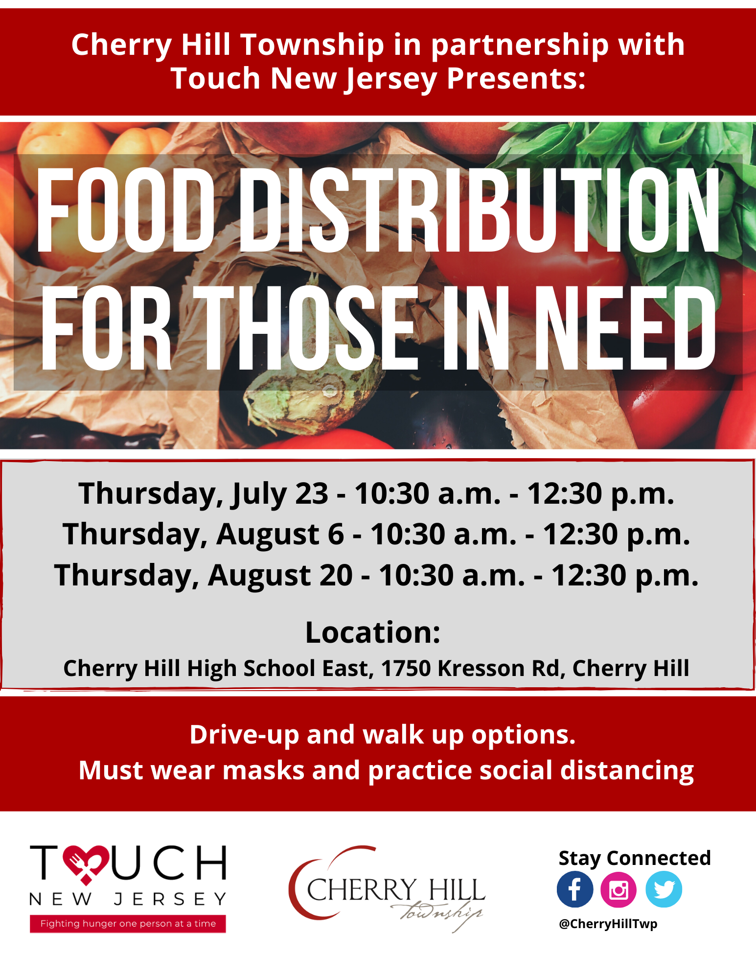 Touch NJ Food Drive