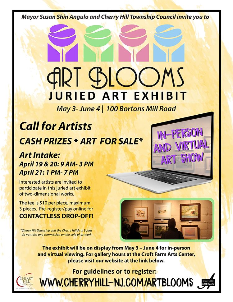Art Blooms Juried Art Exhibit May 3 to June 4 at Croft Farm