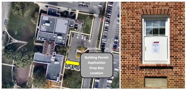 Building Permit Drop Box