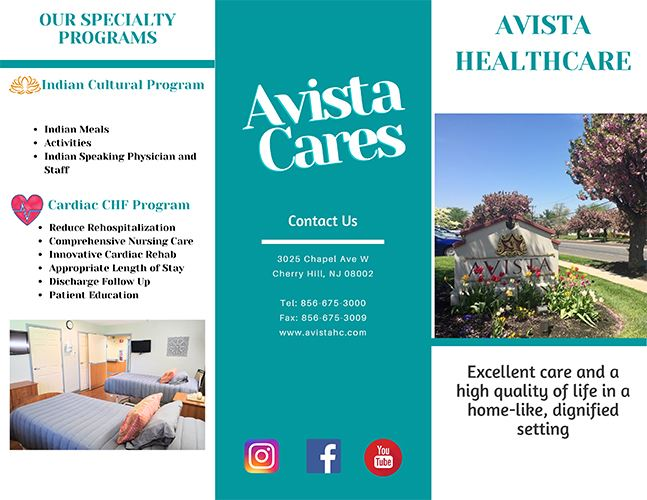 Avista Healthcare Brochure (PDF) Opens in new window