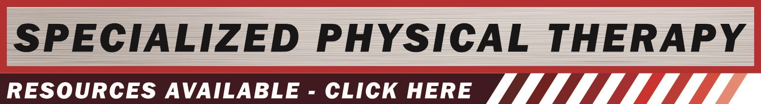 SPEC PHYS THERAPY Button- resources