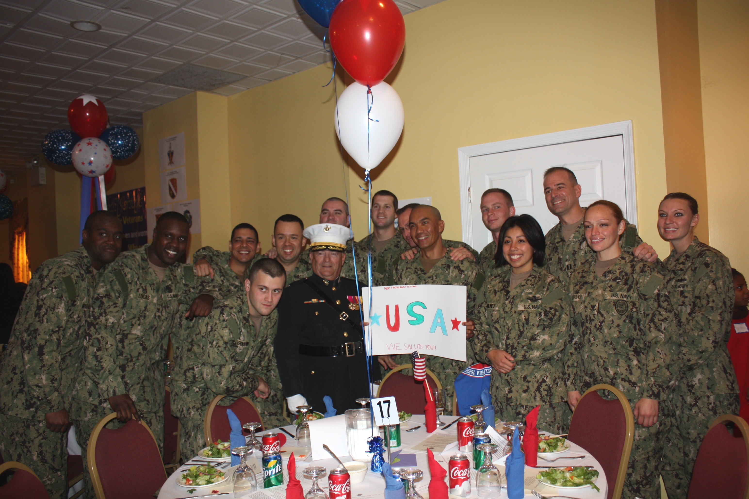 Troops Thanksgiving 13