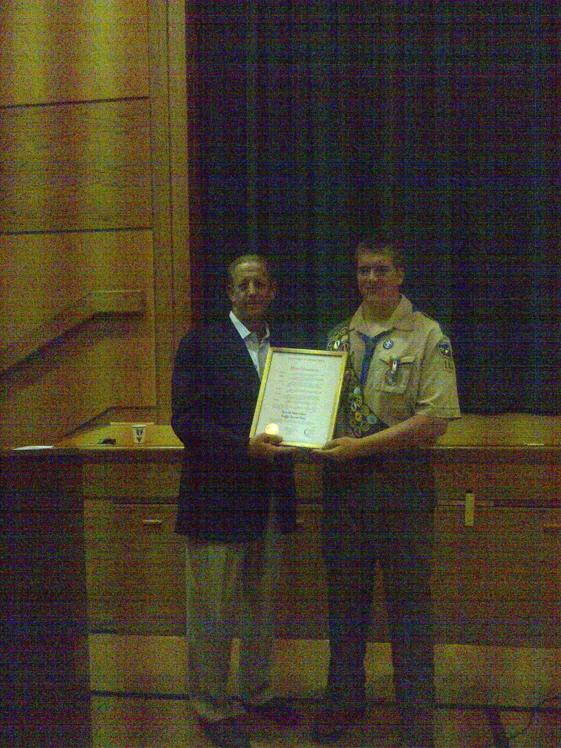 Kevin Schreiber Eagle Scout