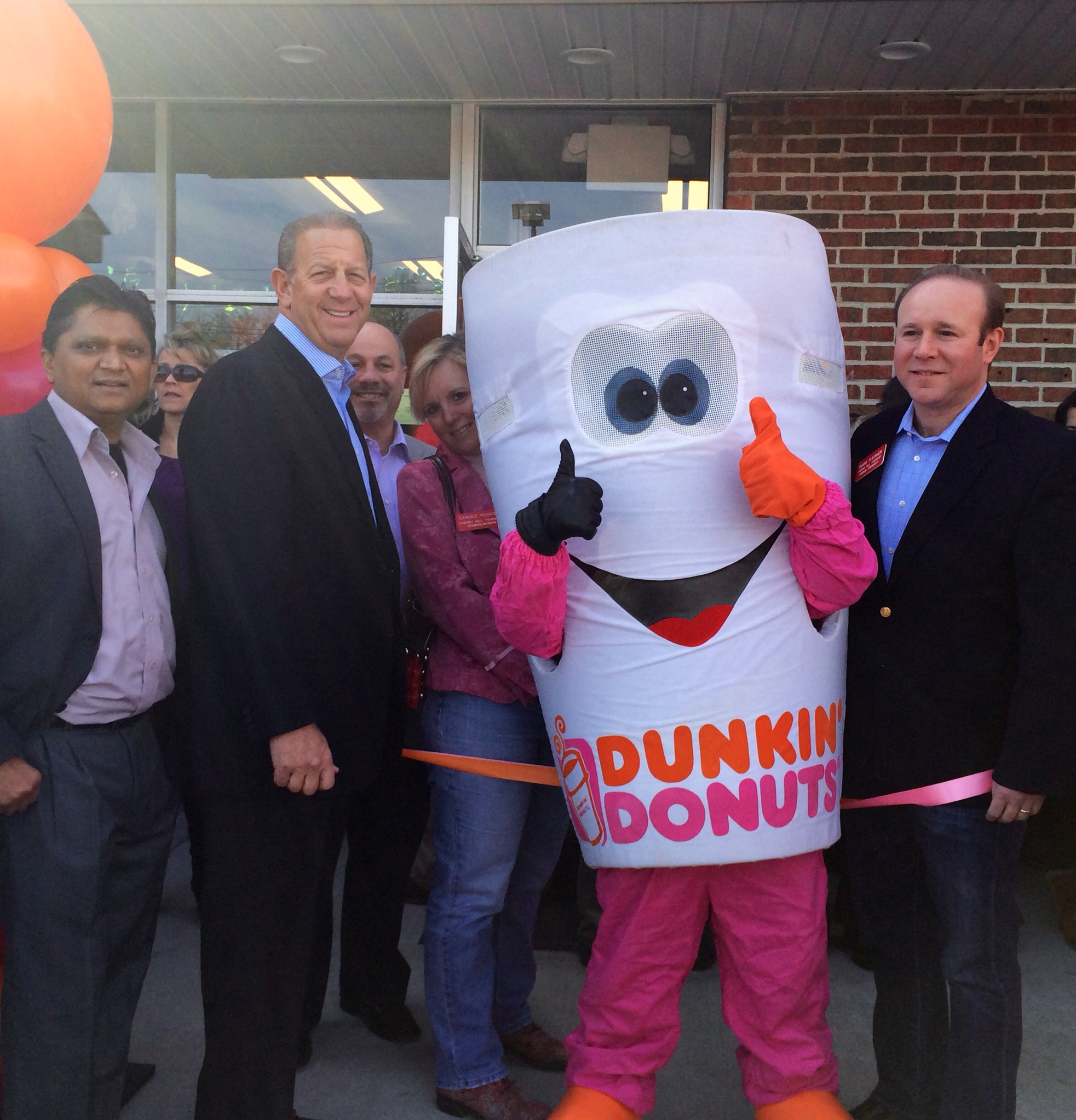 Dunkin Donuts ribbon-cutting.jpg