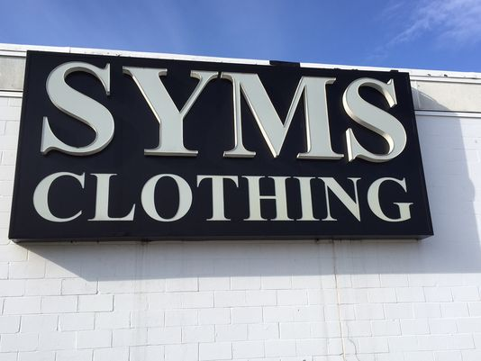 Syms clothing store nj