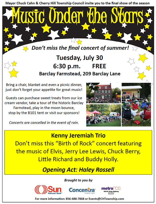Music Under the Stars - July 30