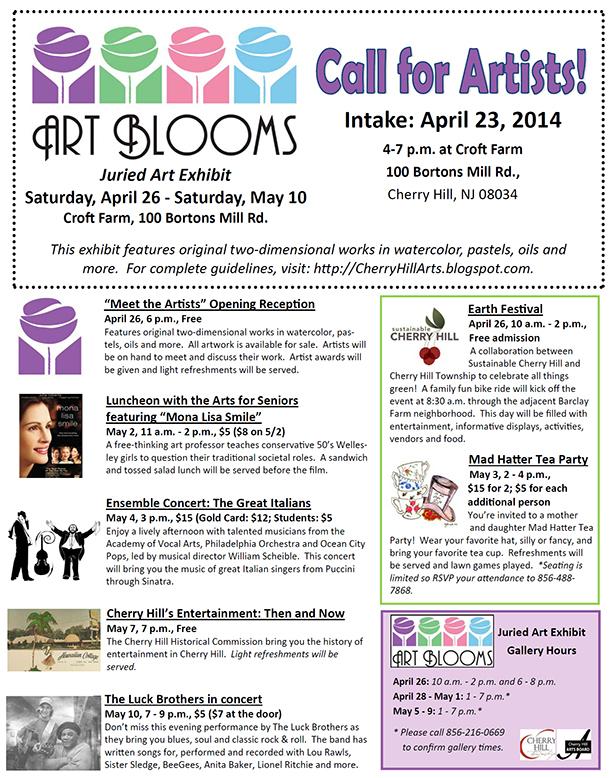 Art Blooms - April 26 - May 10