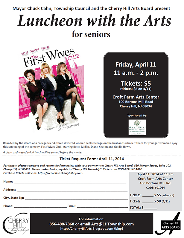 April 11- First Wives Club
