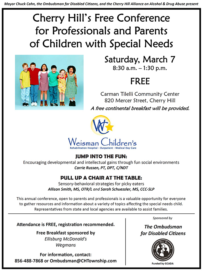 Free Conference for Professionals and Parents of Children with Special Needs