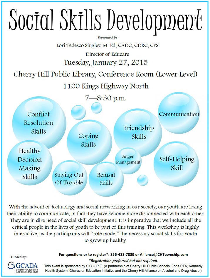 Social Skills Development - Jan 27