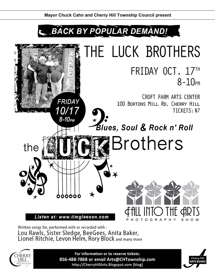 The Luck Brothers - Oct 17