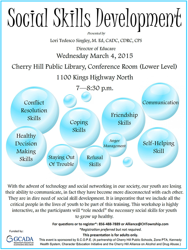 Social Skills Development - March 4