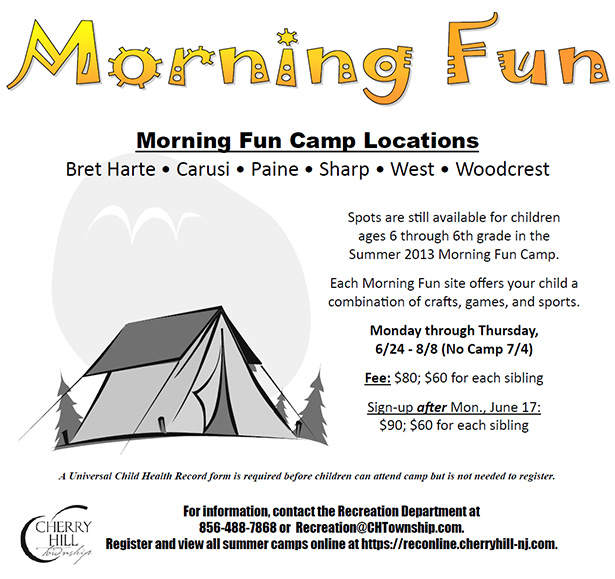 Morning Fun Camp