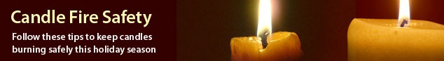 Candle Safety in the Home